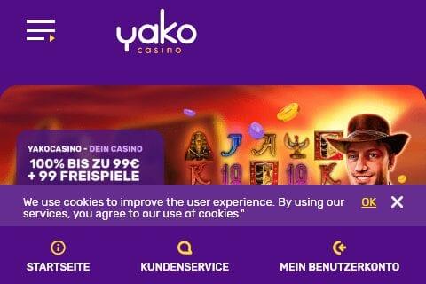 yako casino front image
