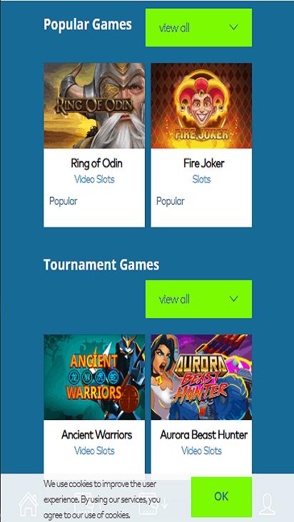 yeticasino game mobile