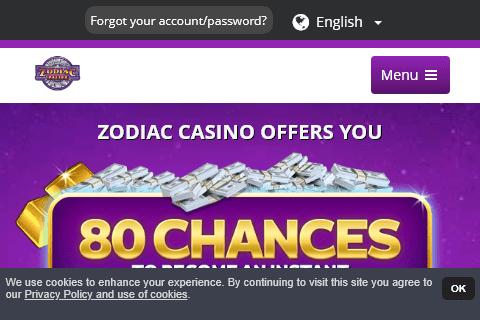 zodiac casino front image
