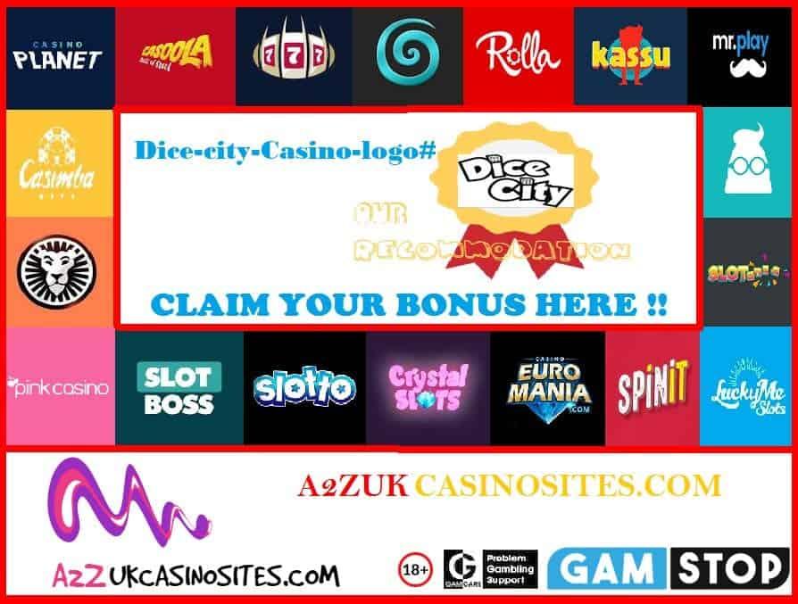 00 A2Z SITE BASE Picture Dice city Casino logo