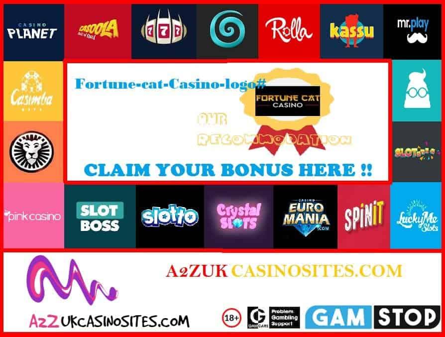 00 A2Z SITE BASE Picture Fortune-cat-Casino-logo#