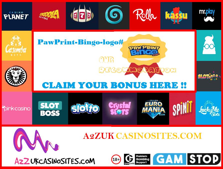 00 A2Z SITE BASE Picture PawPrint-Bingo-logo#