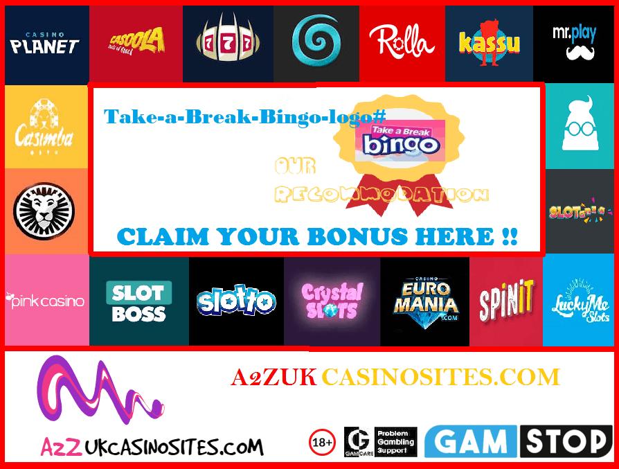 00 A2Z SITE BASE Picture Take-a-Break-Bingo-logo#