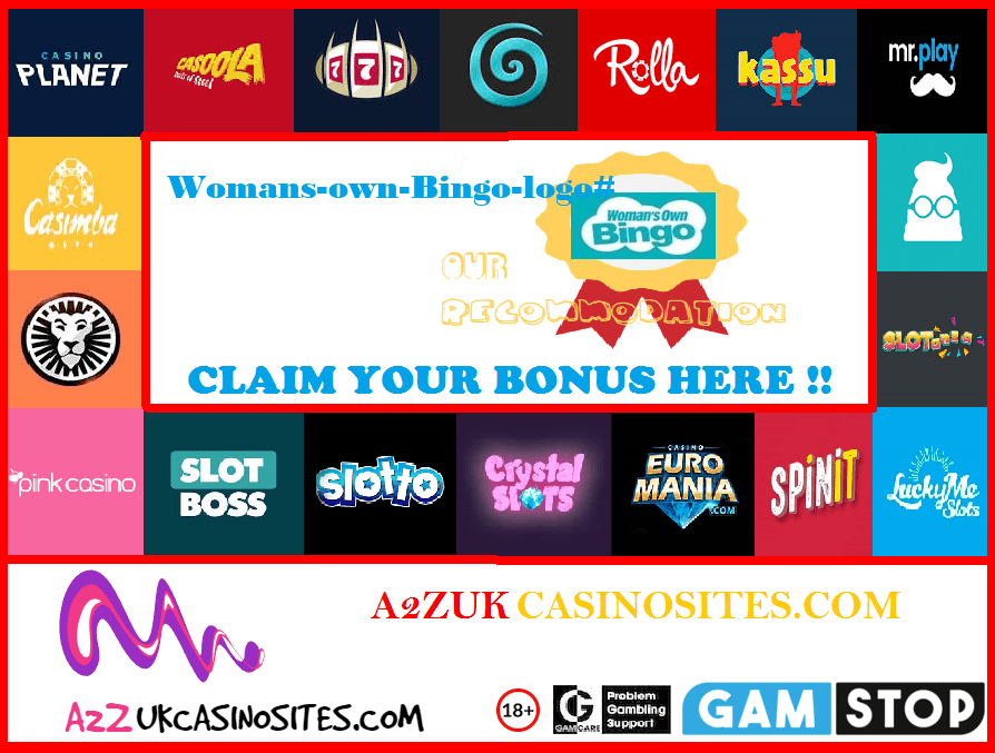 00 A2Z SITE BASE Picture Womans-own-Bingo-logo#
