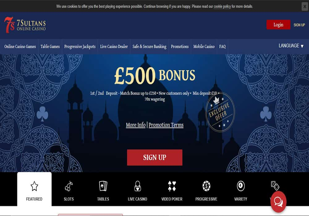 all slots casino home