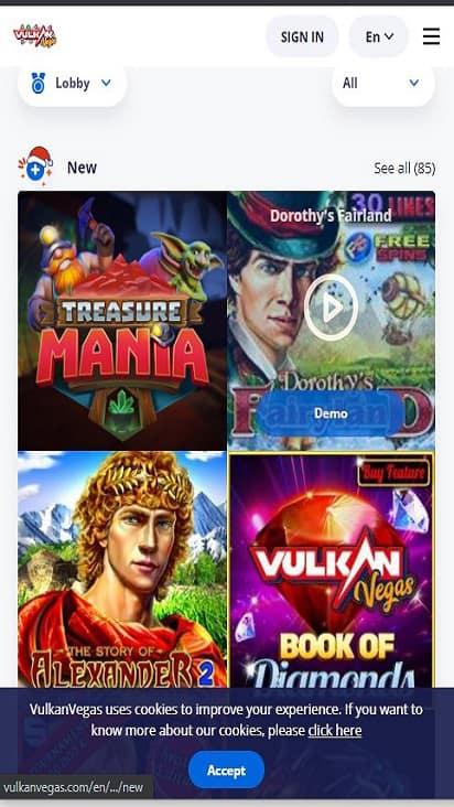 Aston Casino game mobile