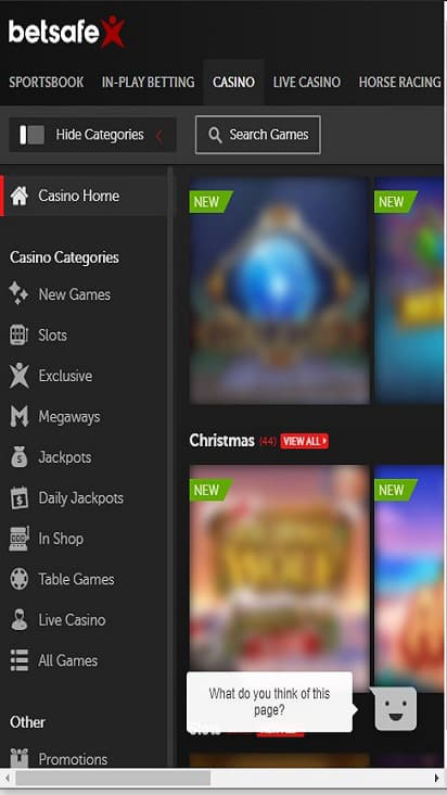 Bet Safe game mobile