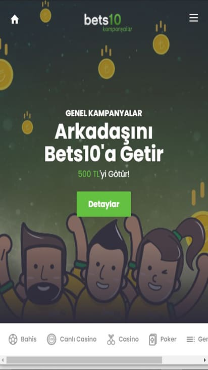 Bets 10 promo mobile