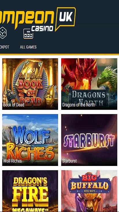 CampeonUK game mobile