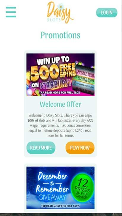 Casino Dames promo mobile