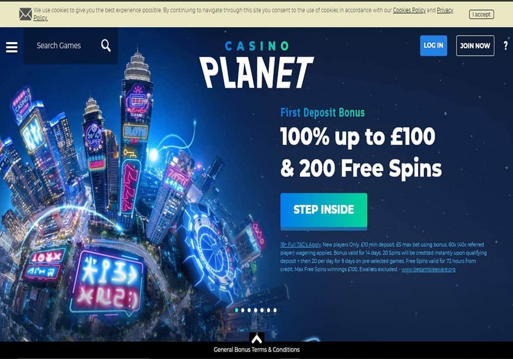 Vegas Hero home page