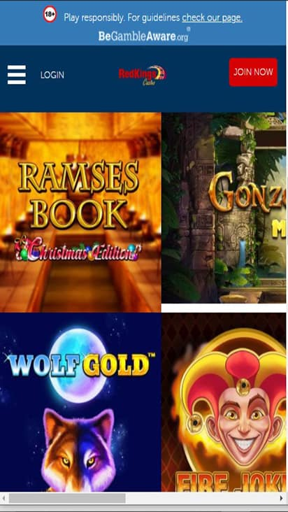 Casino Red Kings game moible