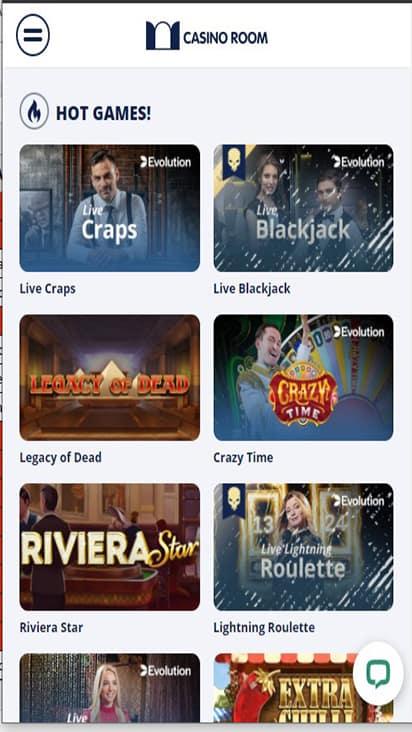 Casino Room game mobile