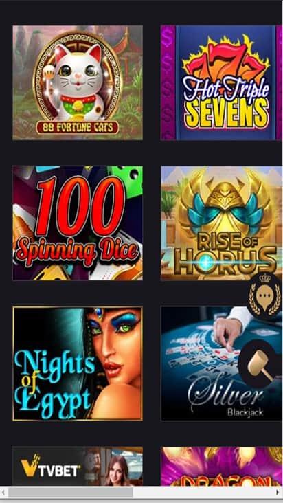 Club Lounge Casino game mobile
