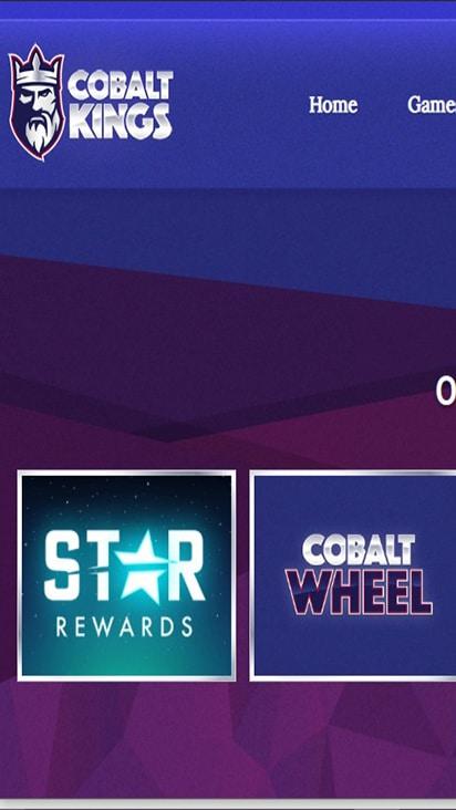Cobalt Kings promo mobile