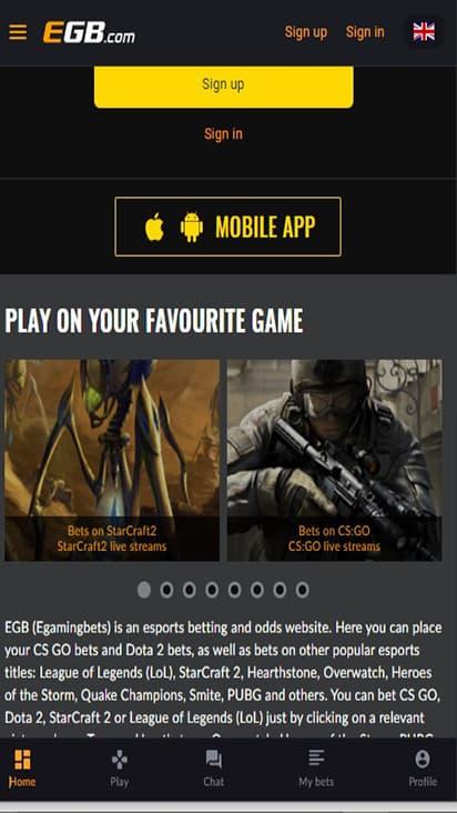 E G B game mobile