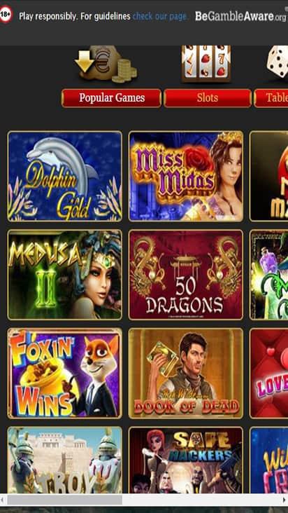 Euro King Club game mobile