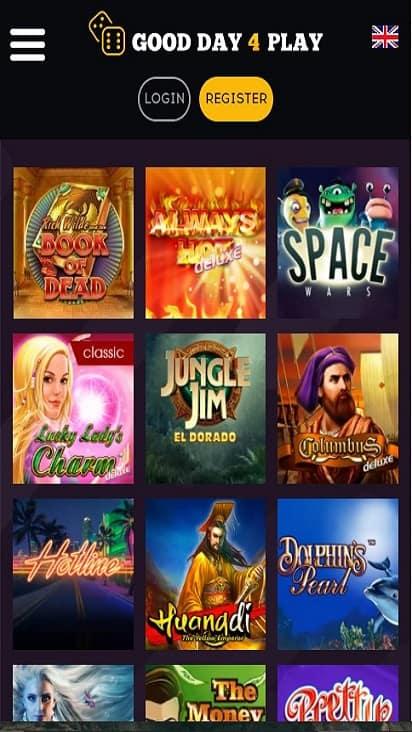 GDF Play game mobile