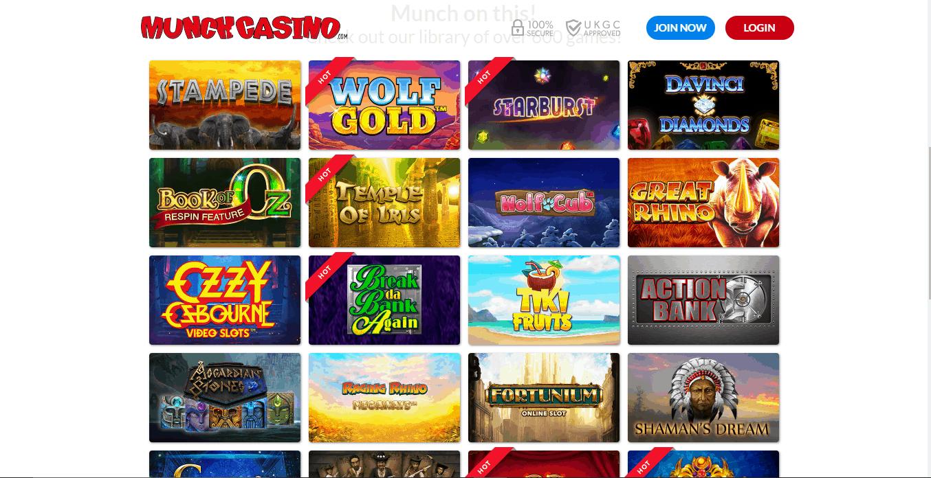 kerching casino games