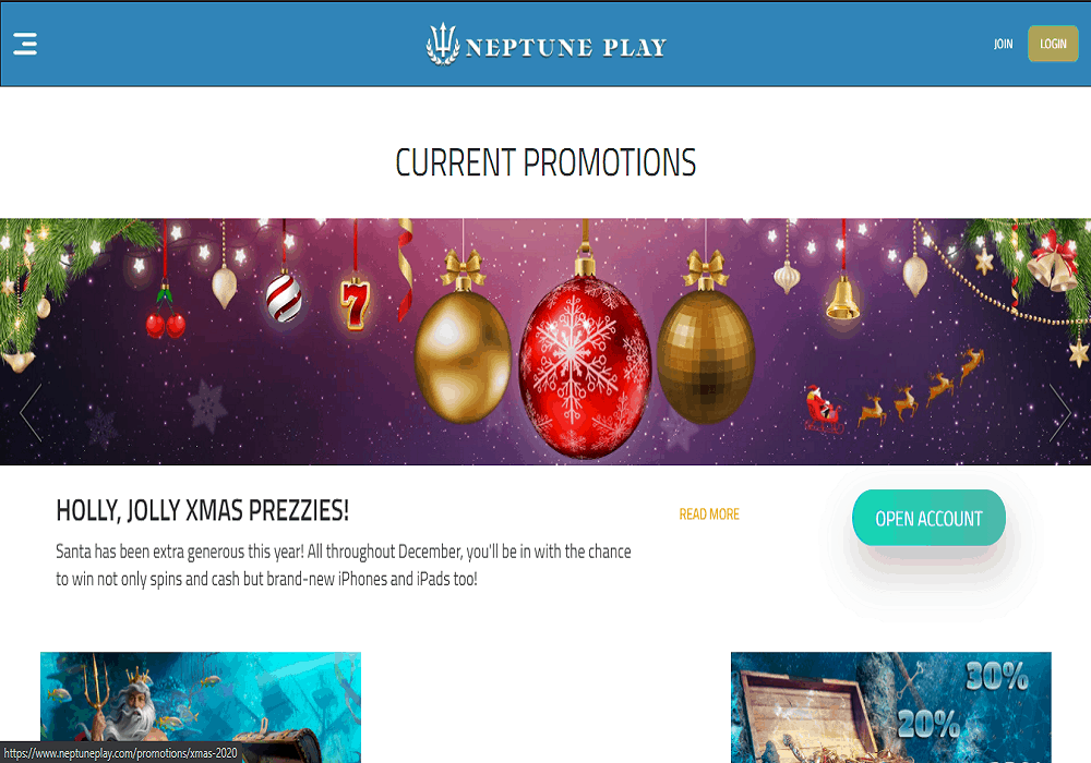green play promotions page
