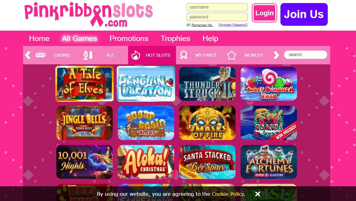 Pink Ribbon Slot  Game