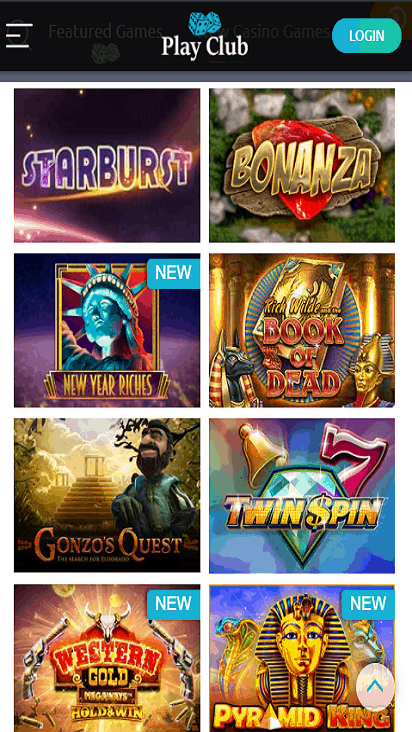 PlayClub game mobile