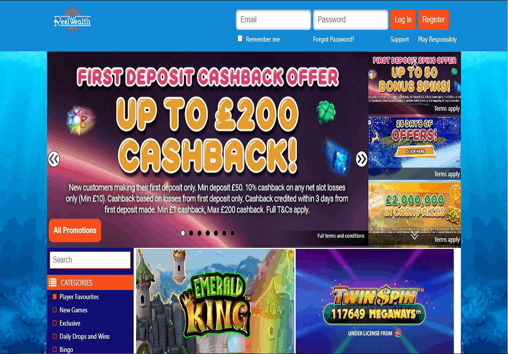 Kerching home page
