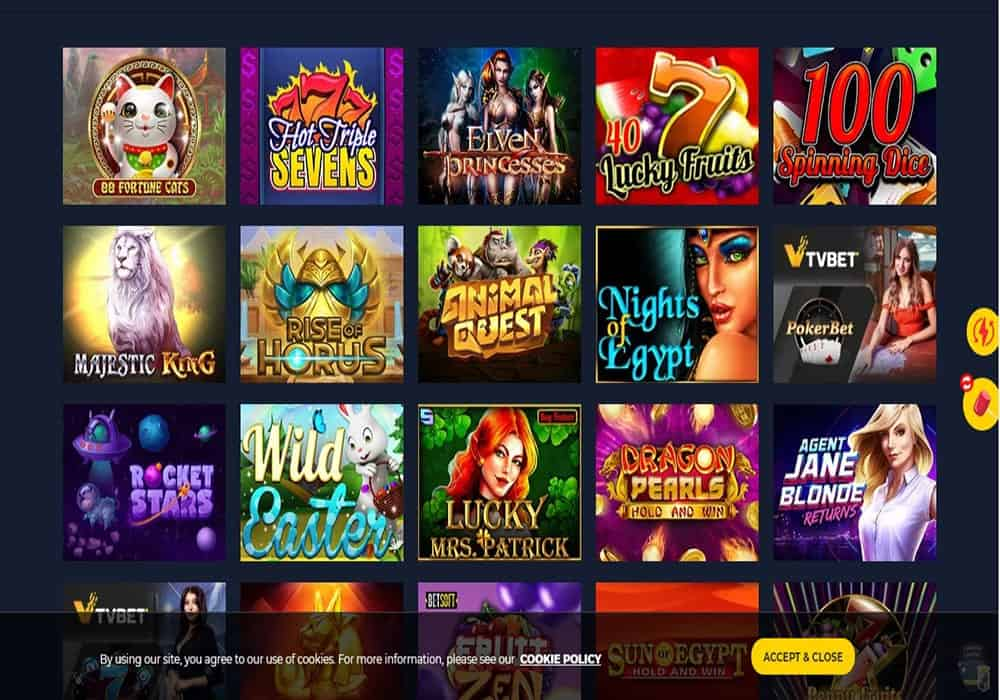 Spinup Casino game