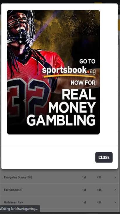 Sportsbook promo mobile