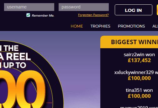 Target Slots Login