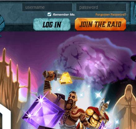Thor Slots Login
