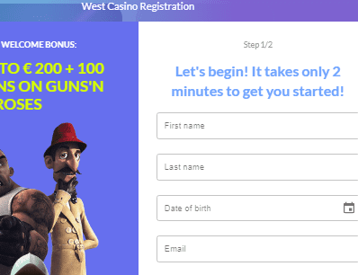 West Casino Signup