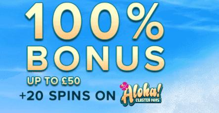aloha slots front image