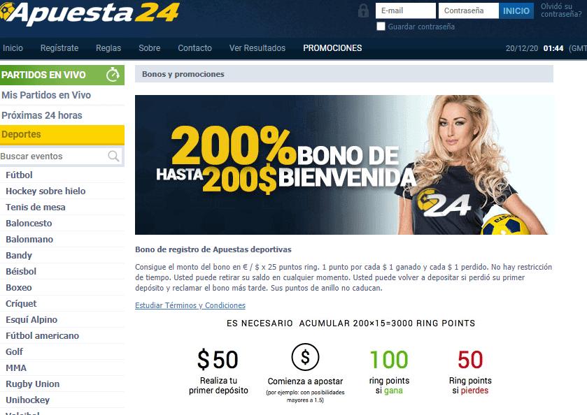 apuesta24 promotions