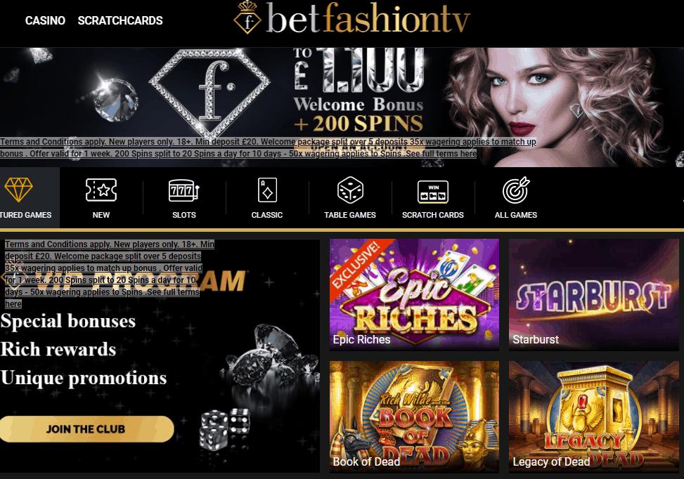 bet fashion tv games