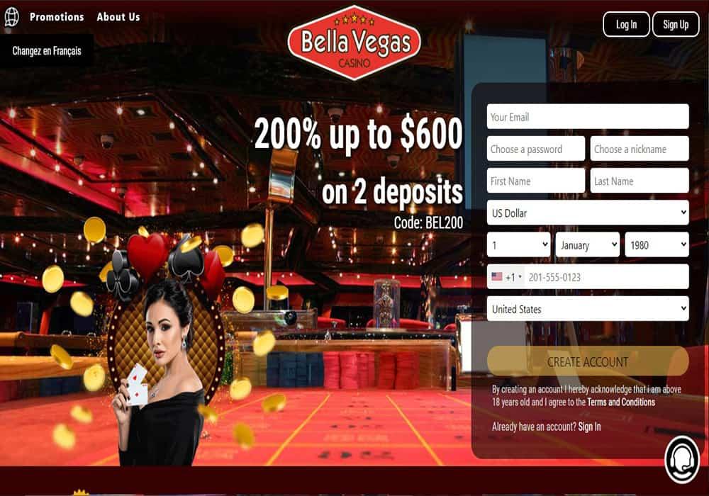 grande vegas casino home