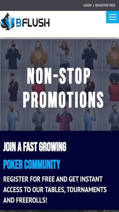 bflush promo mobile