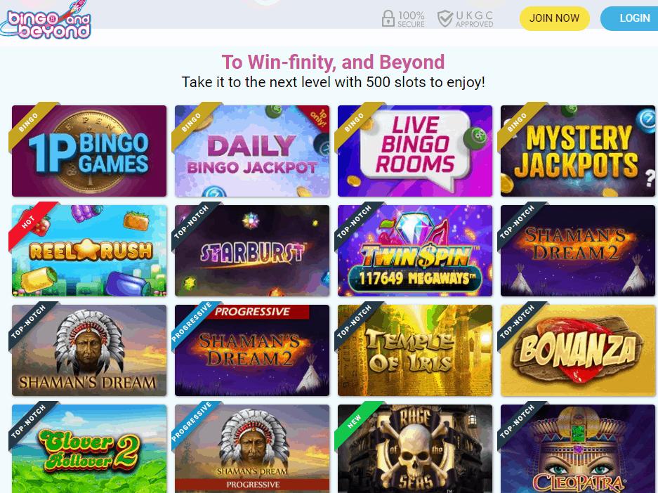 bingo and beyond games