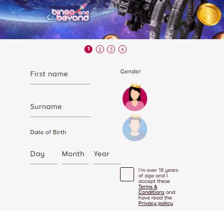 bingo and beyond sign up