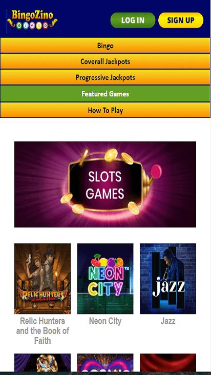 bingozino game mobile