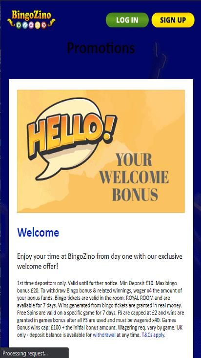 bingozino pomo mobile