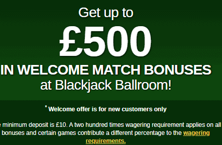 blackjack ballroom front image