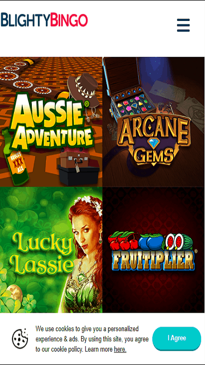blighty bingo game mobile