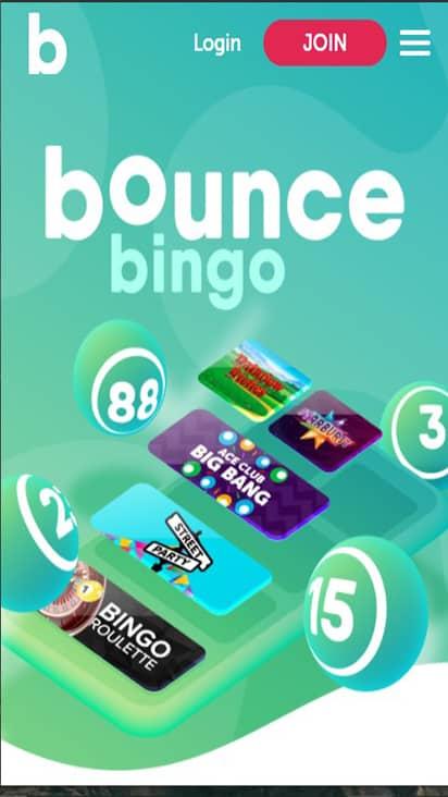 bouncebingo home mobile