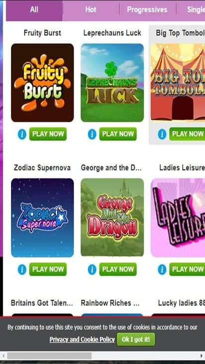 boyle bingo game mobile
