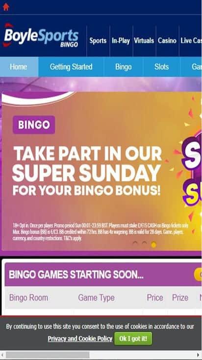 boyle bingo home mobile