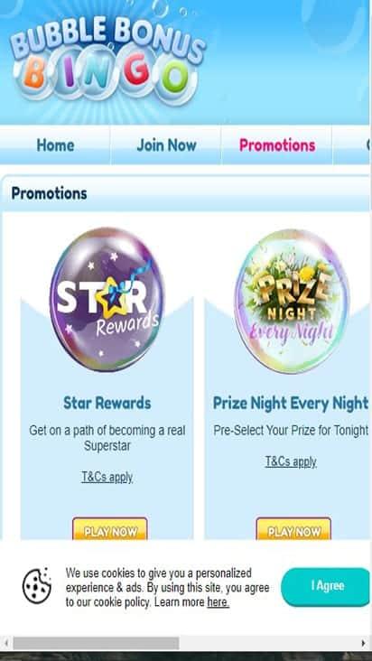 bubblebonusbingo promo mobile