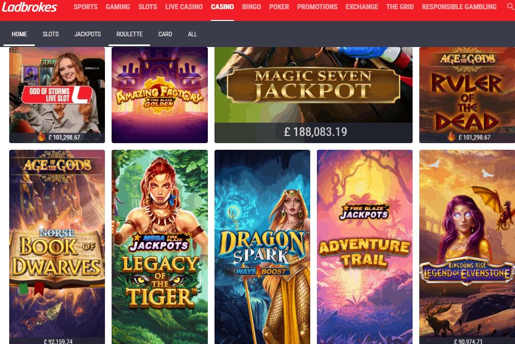 casino ladbrokes games
