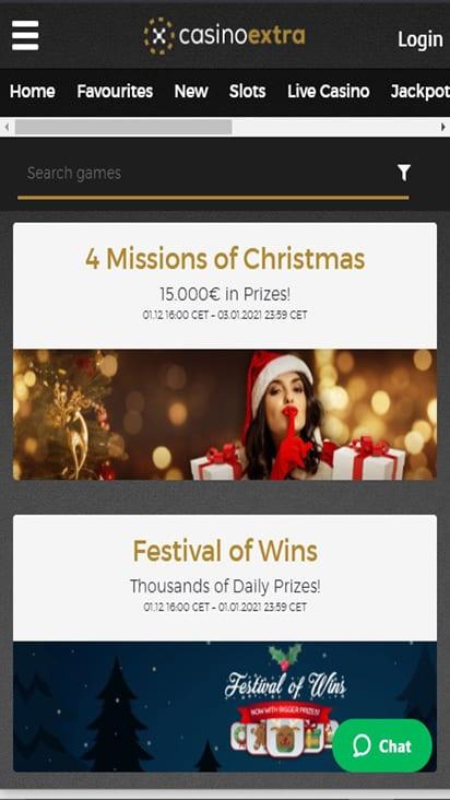 casinoextra promo mobile