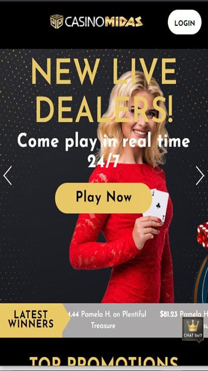 casinomidas home mobile